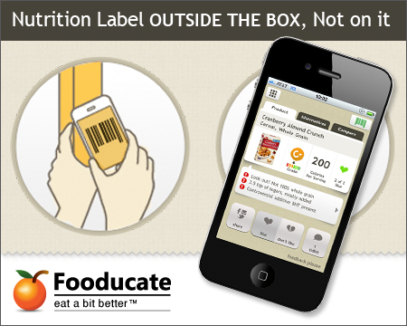 Please Vote for Fooducate's Nutriton Label Redesign!