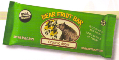 Inside the Label: Organic Bear Fruit Bars