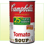 Campbell's Removing 25% of Sodium from Soups