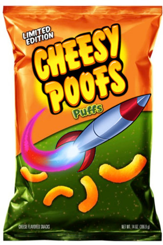 Cheesy Poofs: From Southpark to Wal-Mart