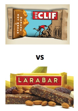 Snack Bar Smackdown: Clif vs. Lara