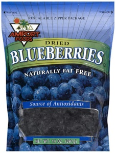 Dried Blueberies – A Healthy Snack [Inside the Label]