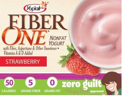FiberOne Yoplait – Zero Guilt? Not So Sure…