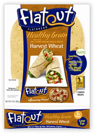 Flat Out's Whole Wheat Flatbread [Inside the Label]