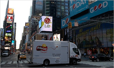 Times Square Renamed Junk Food Square