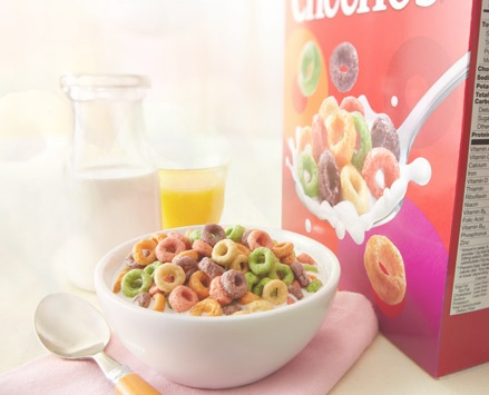"Fruity Cheerios – ""Naturally"" Flavored, Artificially Colored"