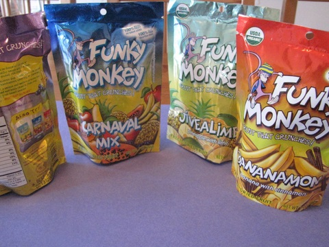 Inside the Label: Funky Monkey Freeze Dried Snacks