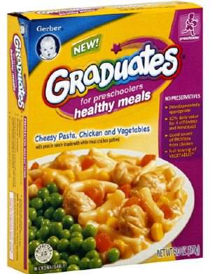 Gerber Graduates Healthy Meals for Preschoolers. Indeed?