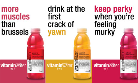 Glaceau Vitamin Water Ads Banned as Misleading [Inside the Label]