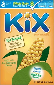Kix Kids' Cereal – Optimal Mix of Taste and Nutrition?