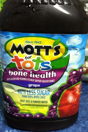 Mott's for Tots Bone Health Juice [Nutrition Impostor]