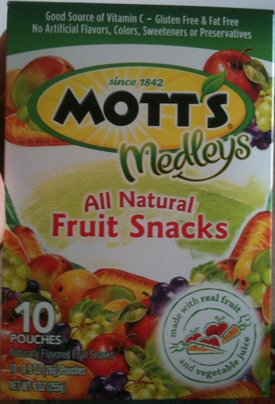 All Natural Fruit Snack?