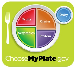 Variations on USDA's MyPlate