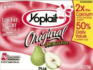 Yoplait Reformulates. Giving Away 1 Million Cups