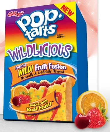 Pop tarts Wildlicious fruit  Fusion