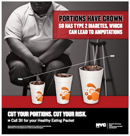 NYC Relentless in Obesity War. This Time: Portion Sizes