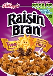 Raisin Bran Deconstructed – Sugar and Fiber Math
