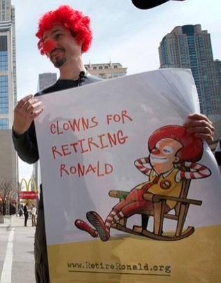Should Ronald McDonald Retire?