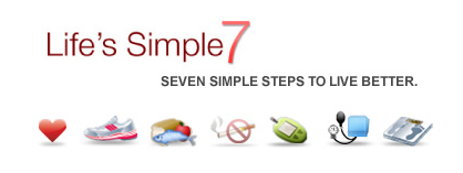 "The American Heart Association's ""Simple Seven"" Heart Health Factors"