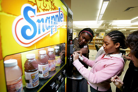 Five Things Parents Can Do to Combat School Vending Machines
