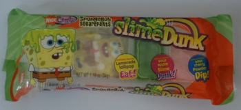 Yes, There Really is a Snack Called SpongeBob Squarepants Slime Dunk [Inside the Label]