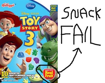 No Surprise: Kids Love Cartoon Character Foods