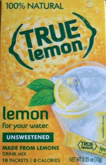 True (?) Lemon For your Water