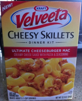 Velveeta Cheesy Skillets vs. Hamburger Helper: Trans-Fat Showdown