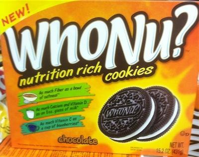 WhoNu Cookies: Oreo Copycat, Nutrition Impostor