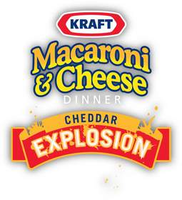 Kraft Macaroni 'N Cheese Dinner Cheddar Explosion (of chemicals)