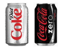 what 39 s the difference between coke zero and diet coke fooducate. Black Bedroom Furniture Sets. Home Design Ideas