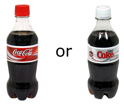 Which is Better for Me: Coke or Diet Coke?