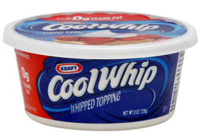 Cool Whip. Not Cool