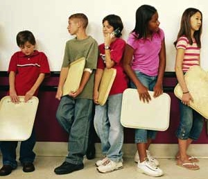 Are Short School Lunch Periods Causing Obesity?