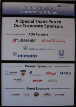 Doctor Orgs Say No to Pharma Sponsors. Will ADA Say No to Big Food?