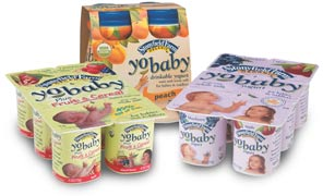 Inside the Label: Yobaby Fruit Yogurt for Tots