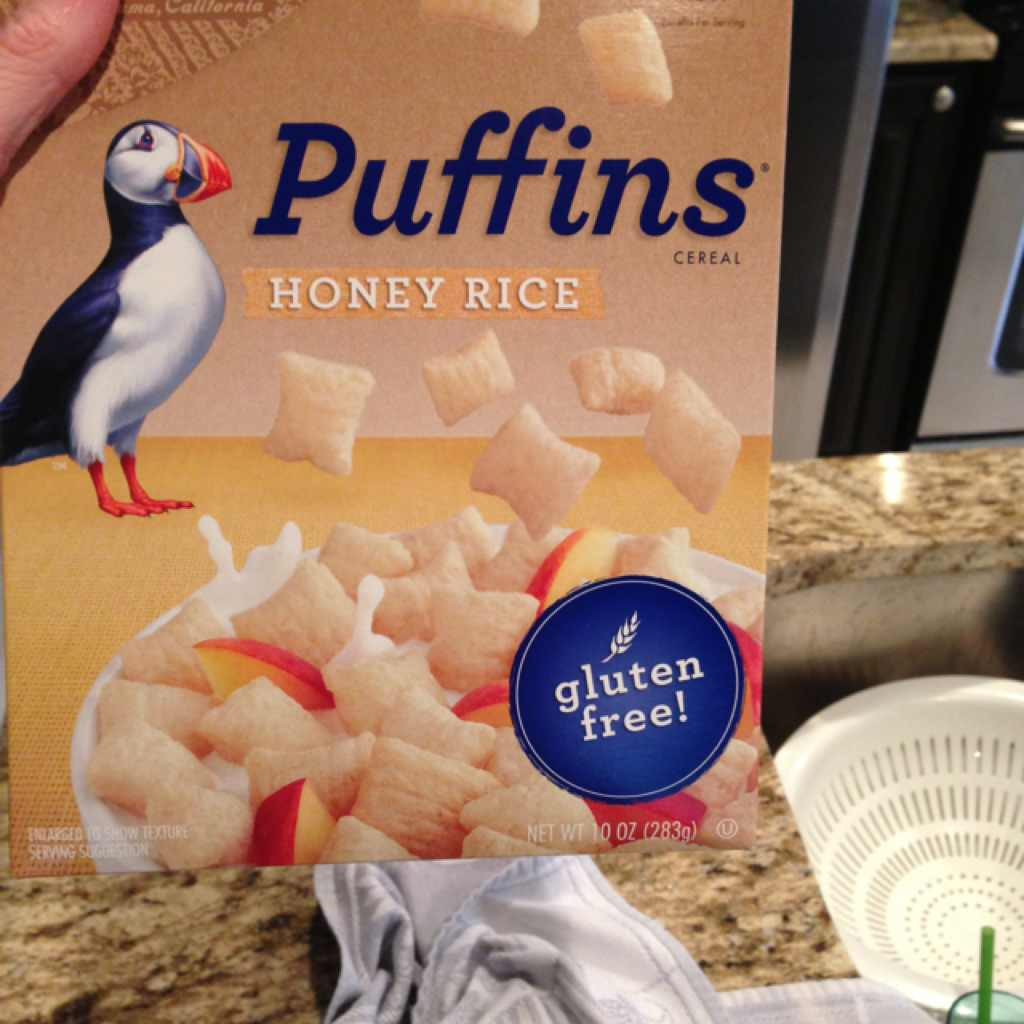 BARBARA'S Puffins Cereal, Honey Rice: Calories, Nutrition