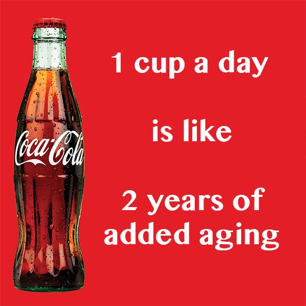 Drinking Sugary Soft Drinks Ages People Faster Fooducate