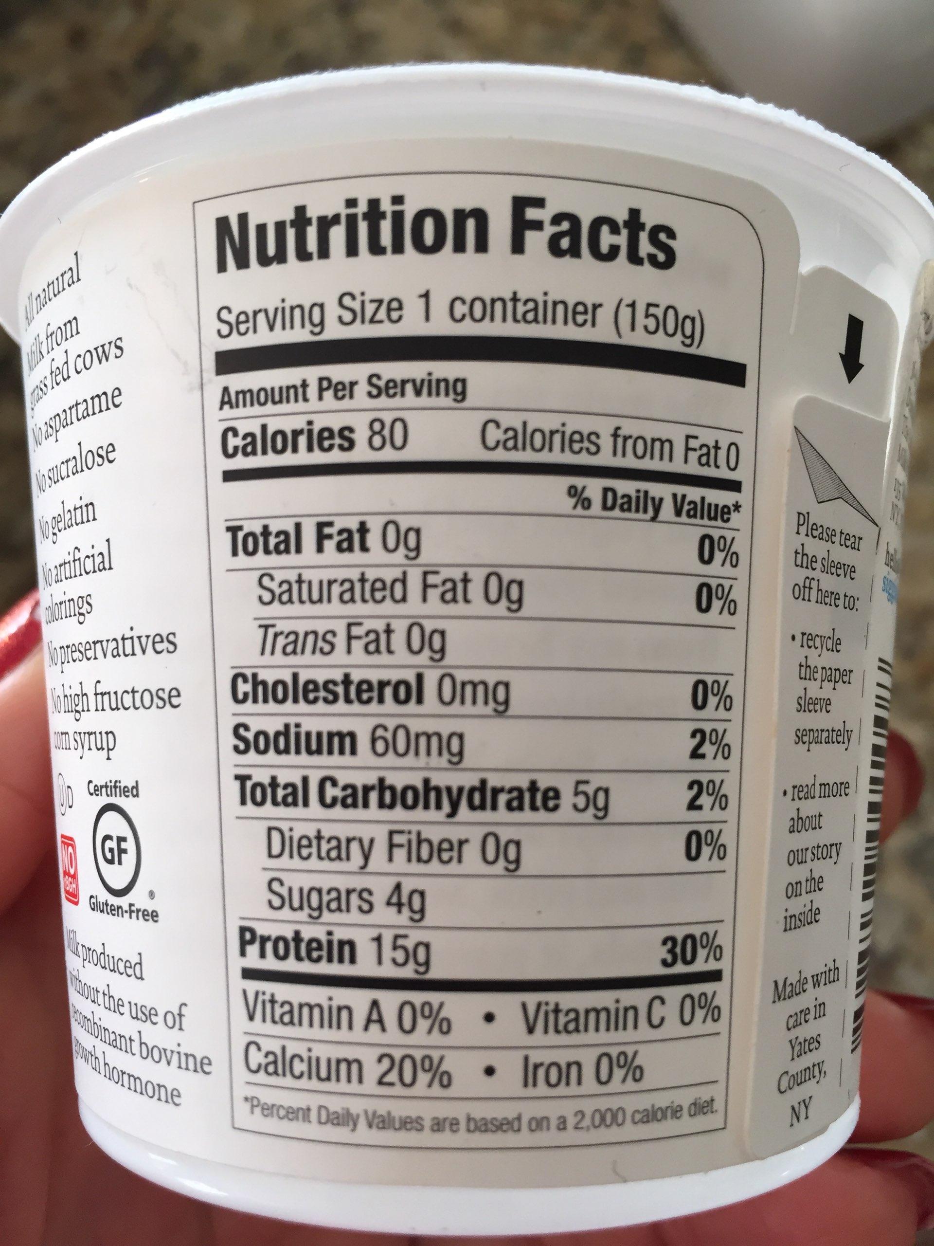 Icelandic-Style Skyr Strained Yogurt