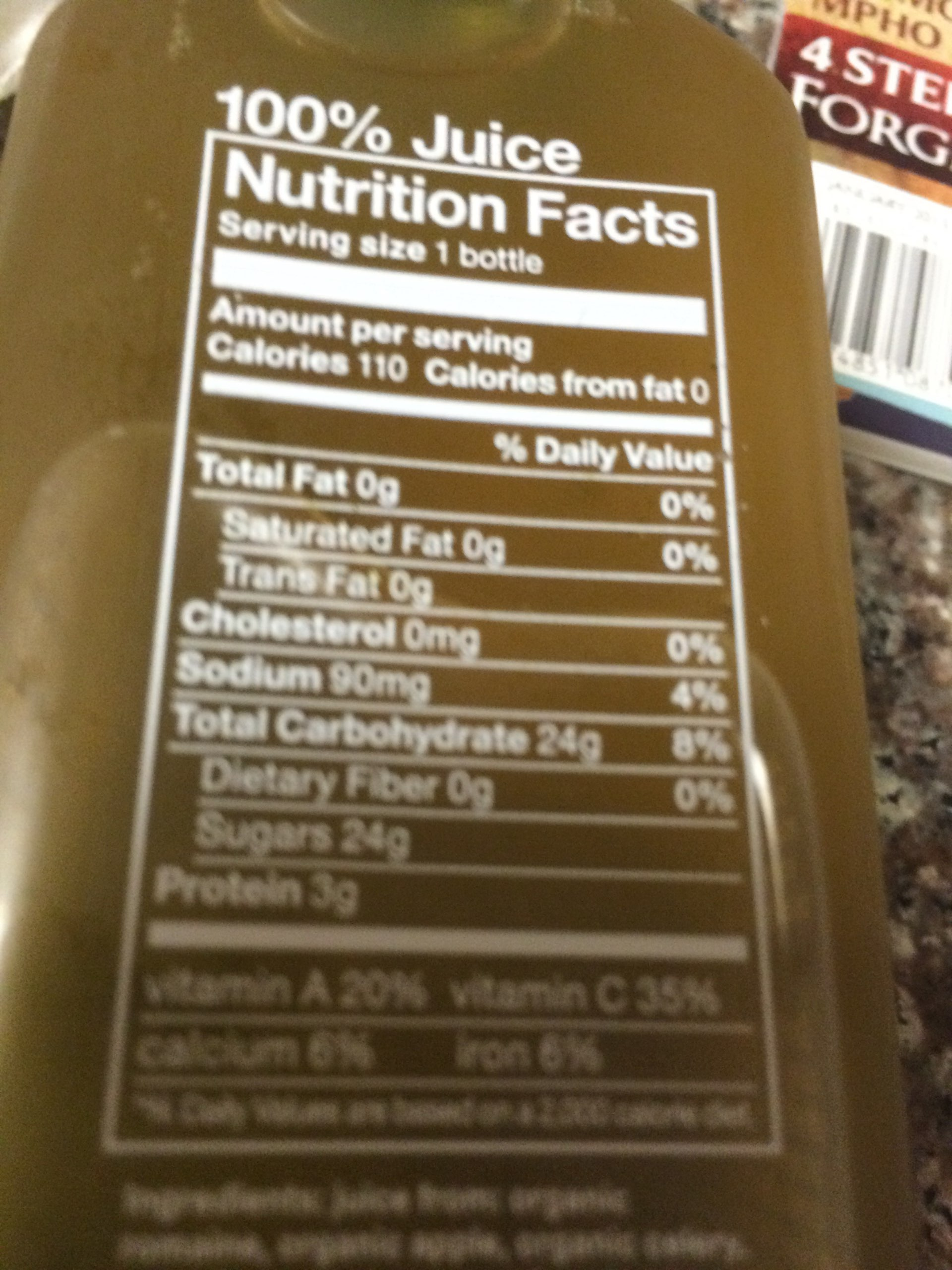 Blueprint green juice calories nutrition analysis more fooducate fooducate malvernweather Images