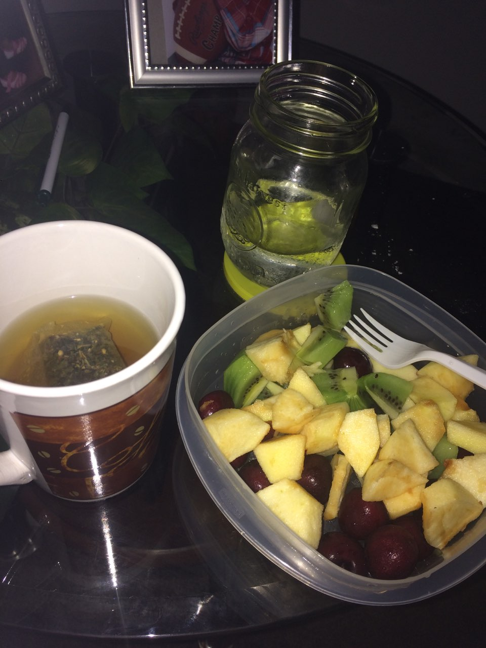 this was my lunch when i started my detox with a detox tea weeks ago was it a good idea to. Black Bedroom Furniture Sets. Home Design Ideas