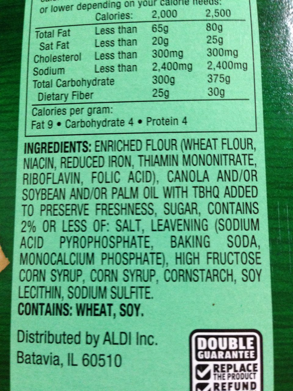 Savoritz Gourmet Crackers: Calories, Nutrition Analysis