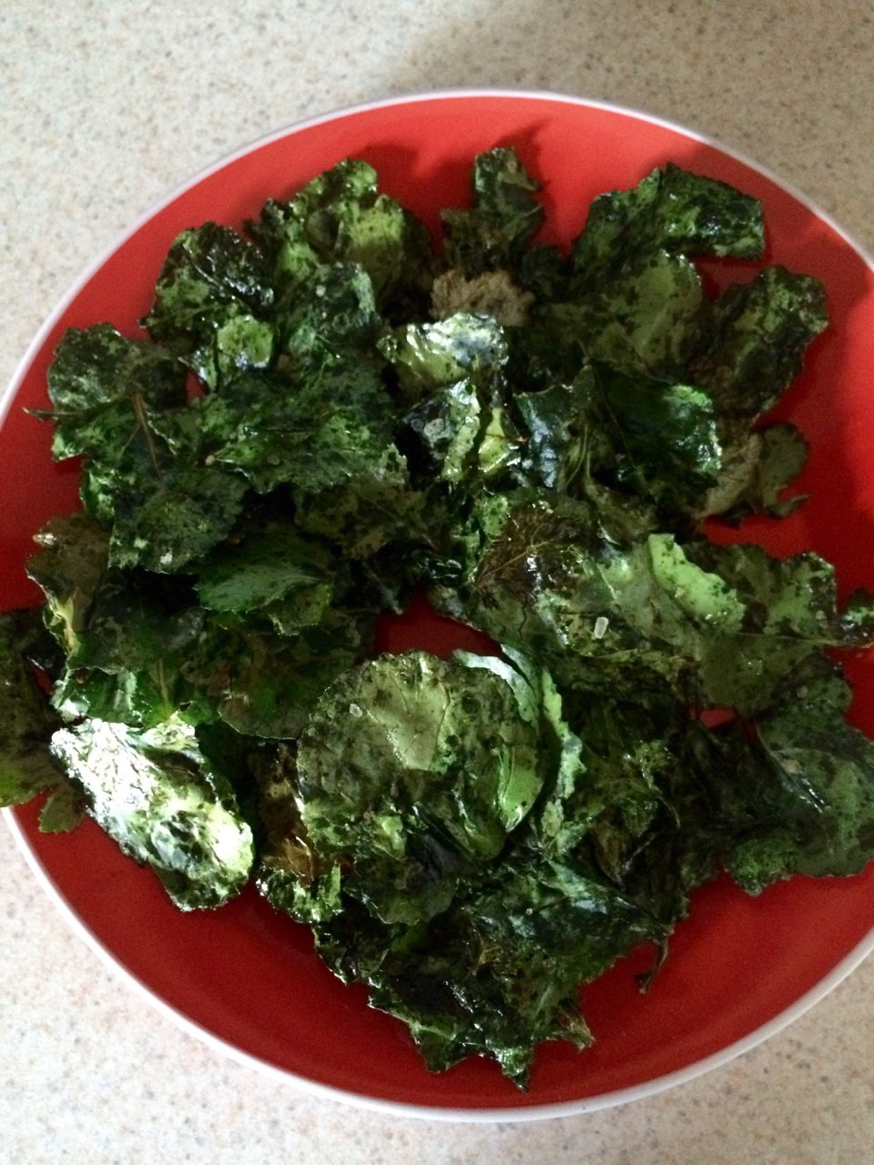 wal mart haircut kale chips anyone i m shocked at how easy these are 4448