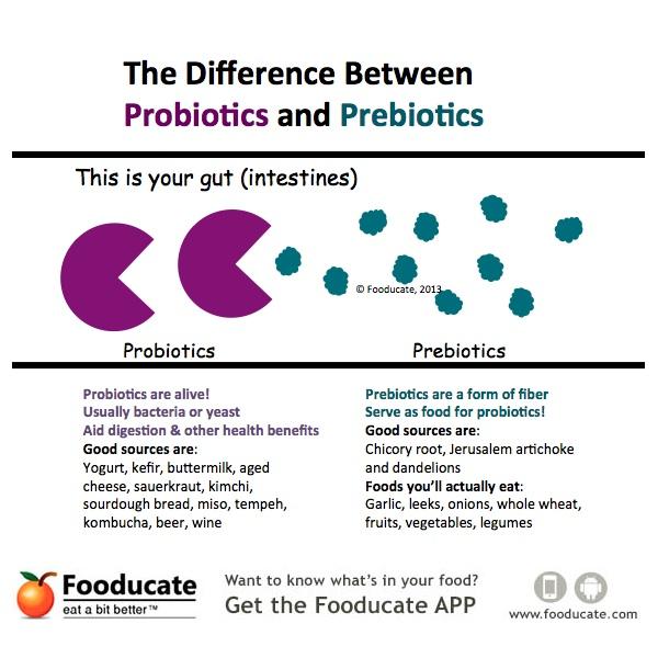 Never Confuse Probiotics With Prebiotics Again Fooducate