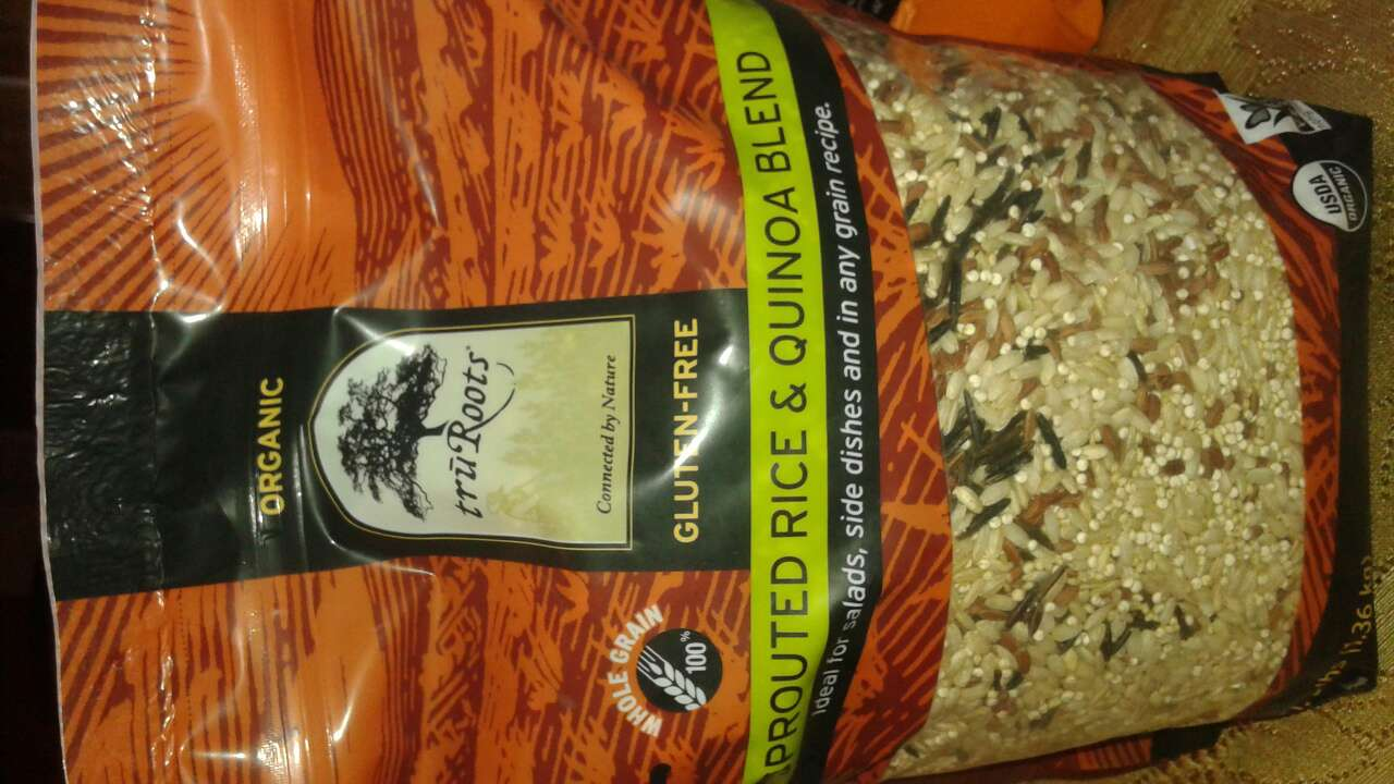Tru Roots Sprouted Rice Amp Quinoa Blend Organic Calories