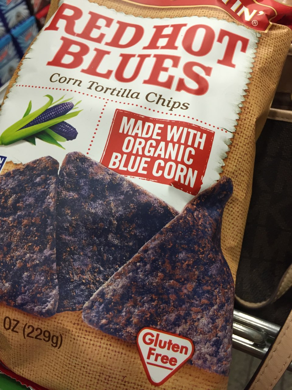 Garden Of Eatin Red Hot Blues Tortilla Chips Calories