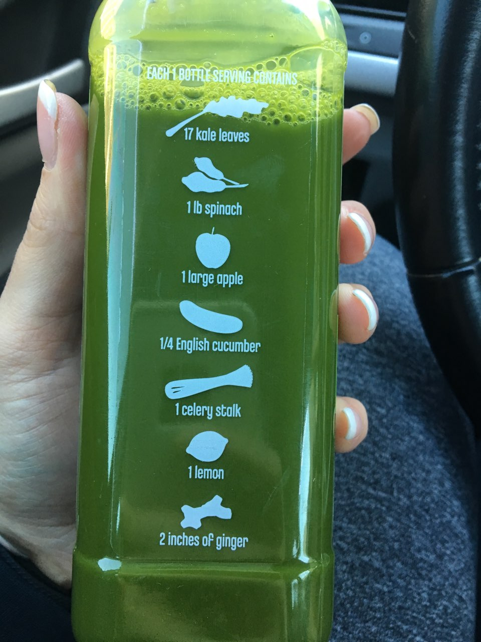 Trader Joe's Cold Pressed Juice, Green