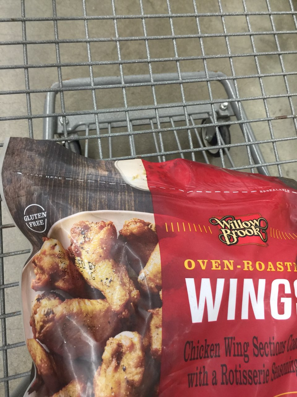 Willow Brook Oven Roasted Wings: Calories, Nutrition Analysis & More  Fooducate