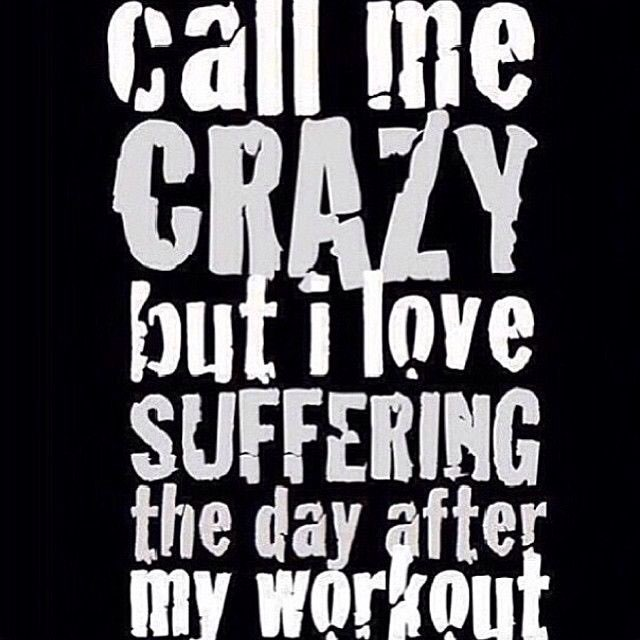 Inspired by leg day today! Cause I know I\'m gonna be sore ...