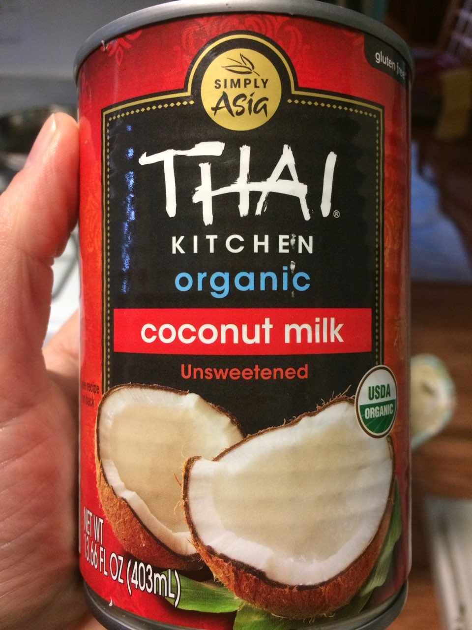 Thai Kitchen Coconut Milk Calories Nutrition Analysis More Fooducate